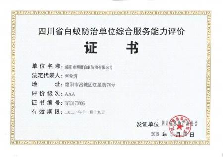 3A级综合能力证书